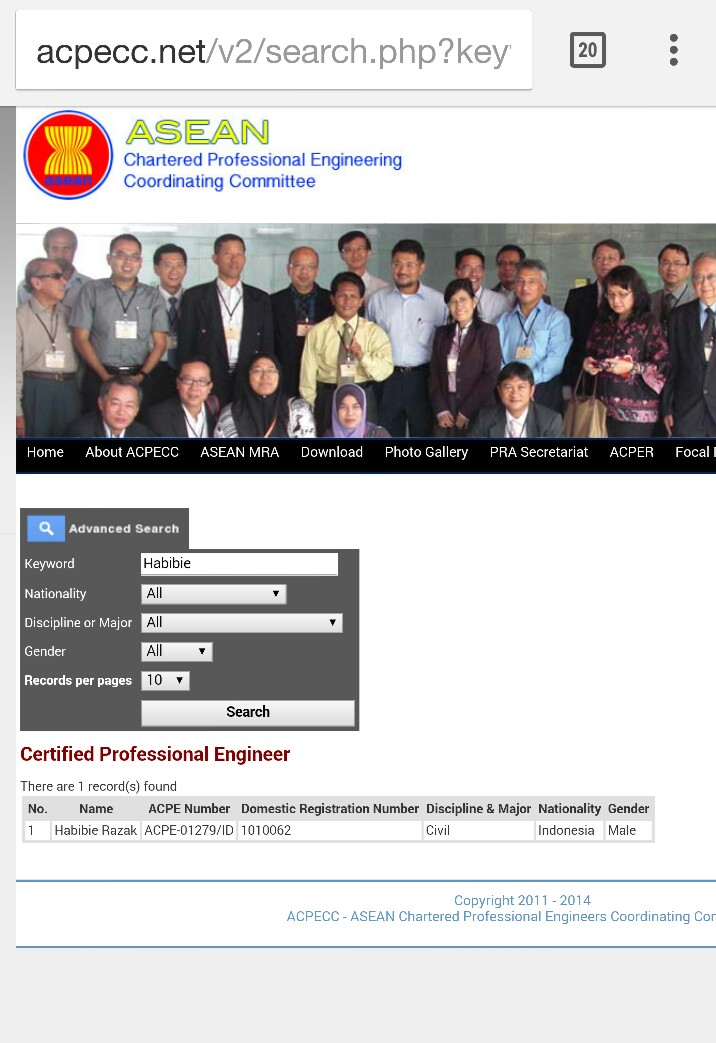 ACPECC Website