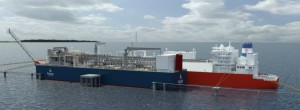 Floating Liquefaction Regasification & Storage Unit