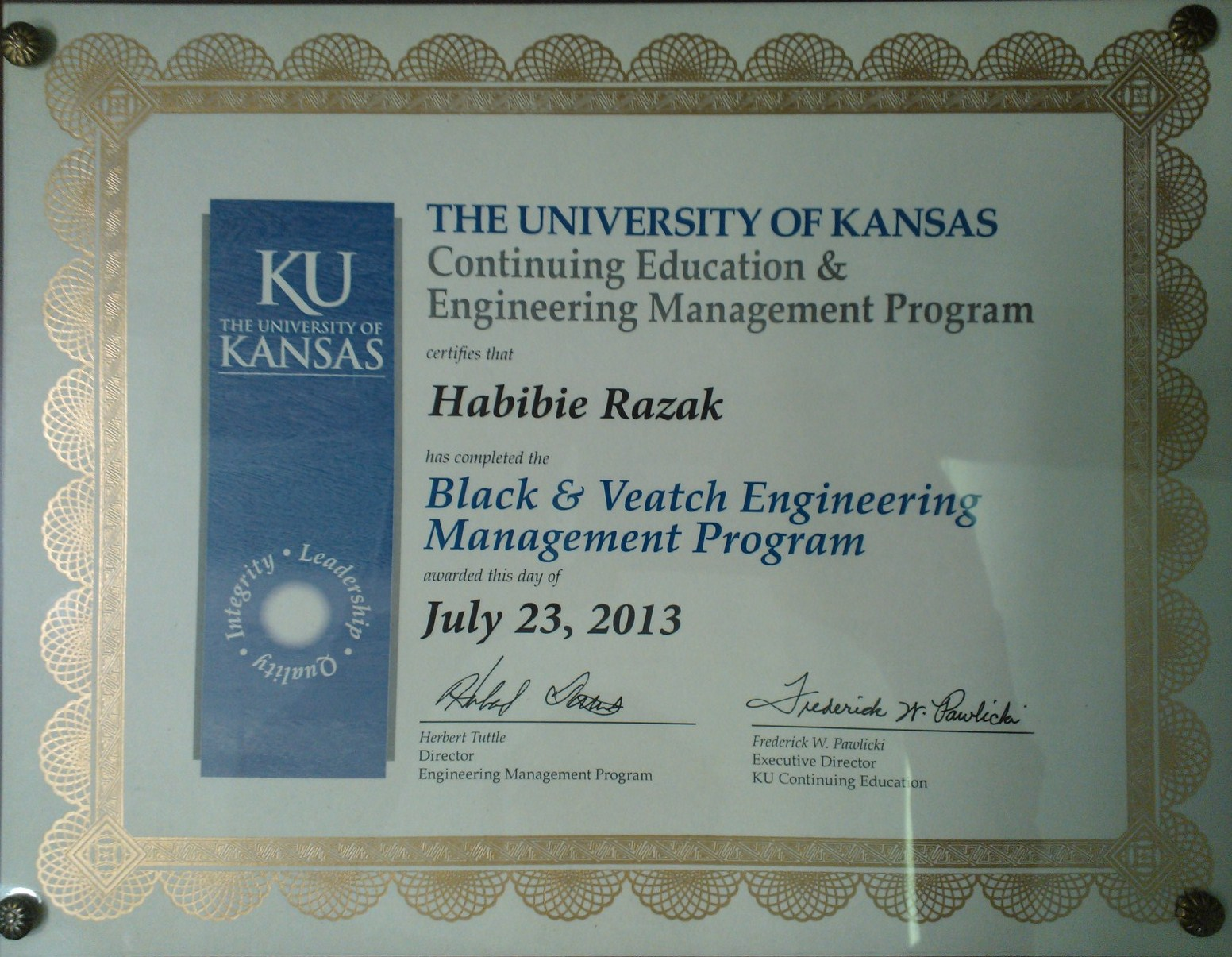 KU Engineering Management
